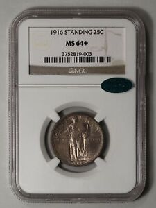 Click now to see the BUY IT NOW Price! 1916 STANDING LIBERTY QUARTER. NGC MS64  CAC