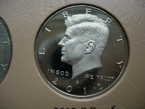 2012 S KENNEDY CLAD S PROOF    L53
