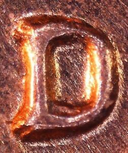 Click now to see the BUY IT NOW Price! 1964 D LINCOLN CENT   BU   REPUNCHED MINT MARK RPM  1MM 013 / RPM 013 / WRPM 012