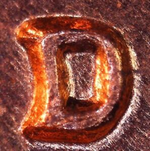 Click now to see the BUY IT NOW Price! 1964 D LINCOLN CENT   BU   REPUNCHED MINT MARK RPM  1MM 014 / RPM 014 / WRPM 024