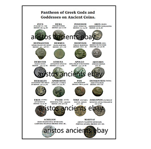 COLLECTING PAGE GREEK GODS & GODDESSES OF THE PANTHEON AND MORE