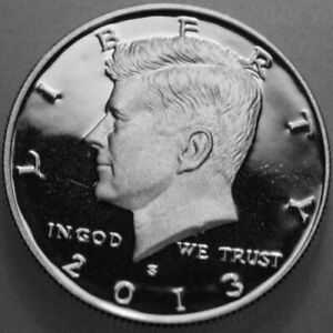 2013 S KENNEDY HALF DOLLAR 90  SILVER PROOF DEEP CAMEO NICE NO PROBLEM COIN