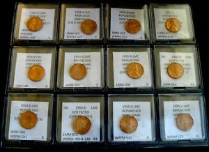 Click now to see the BUY IT NOW Price! COMBO PACK   12 COINS   1959 D LINCOLN MEMORIAL CENTS   BU    RPMS