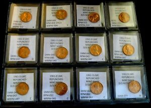 Click now to see the BUY IT NOW Price! COMBO PACK   12 COINS   1961 D LINCOLN MEMORIAL CENTS   BU    RPMS