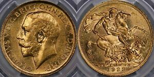 Click now to see the BUY IT NOW Price! 1923 PRETORIA CURRENCY ISSUE SOVEREIGN   PCGS AU58