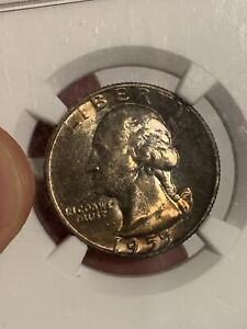 Click now to see the BUY IT NOW Price! 1955 D WASHINGTON QUARTER NGC CAC MS67
