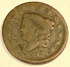 1817 LARGE CENT  NICE LOOKING 1
