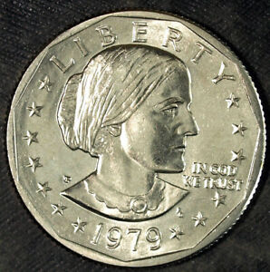 1979 P SUSAN B. ANTHONY DOLLAR  UNCIRCULATED  FRESH FROM MINT SET 134