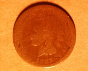 1867  INDIAN CENT  <> 802 1
