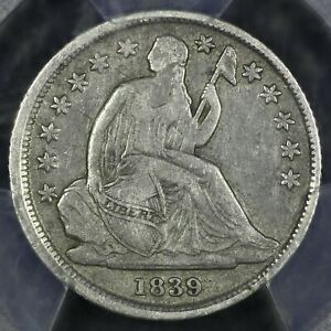1839 O 10C SEATED LIBERTY SILVER DIME PCGS VF25  OLD TYPE COIN MONEY