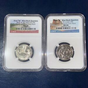 Click now to see the BUY IT NOW Price! 2019W LOWELL QUARTER MS68 POP 23 & 2019W AMERICAN MEMORIAL QUARTER MS68 POP 21