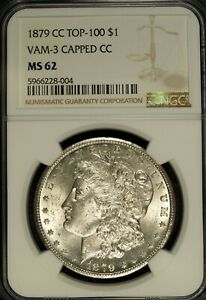 Click now to see the BUY IT NOW Price! 1879 CC NGC MS 62 MORGAN SILVER DOLLAR  VAM 3 TOP 100 CAPPED CC  004
