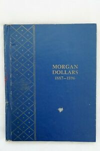 Click now to see the BUY IT NOW Price! MORGAN SILVER DOLLAR ALBUM BOOK 1887 1896 24 COINS 1889S 90CC 92S 92CC 95O 96S