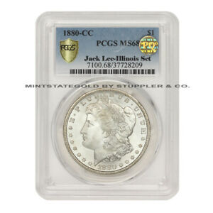 Click now to see the BUY IT NOW Price! FINEST KNOWN 1880 CC $1 SILVER MORGAN PCGS MS68 PQ APPROVED ILLINOIS SET