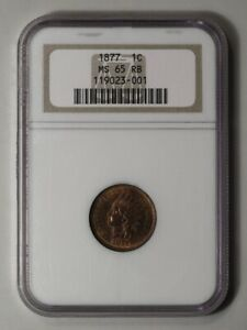 Click now to see the BUY IT NOW Price! 1877 1C INDIAN CENT   TYPE 3 BRONZE NGC