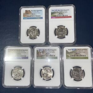 Click now to see the BUY IT NOW Price! 2019W MS67 QUARTERS & 2020W V75 MS67 QUARTERS  10COIN SET  NGC REGISTRY RANK 7TH