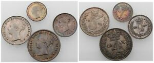REINO UNIDO  MAUNDY JUEGO 1844  LONDON. 1 PENNY 2  3 Y 4 PENCE. SEABY 3916