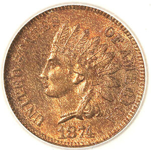 Click now to see the BUY IT NOW Price! 1874 1C INDIAN HEAD CENTS RED & NICE  INDIAN HEAD PENNY