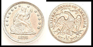 Click now to see the BUY IT NOW Price! 1876 CC 25C   SEATED LIBERTY QUARTER
