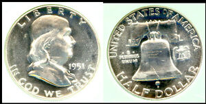 Click now to see the BUY IT NOW Price! 1951 50C  NICE ING   FRANKLIN HALF DOLLAR