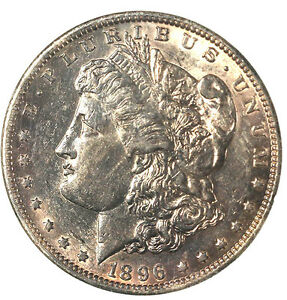 Click now to see the BUY IT NOW Price! 1896 O $1  BOOK  TRENDS   $3000  MORGAN DOLLAR
