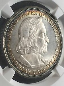 Click now to see the BUY IT NOW Price! 1892 50C COLUMBIAN HALF DOLLAR  NGC MS67                3754086 002C