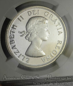 Click now to see the BUY IT NOW Price! CANADA $1 DOLLAR 1964 PL65 PL CAM NGC SILVER KM58 ELIZABETH II CAMEO
