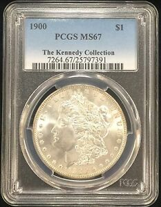 Click now to see the BUY IT NOW Price! 1900 PCGS MS67 MORGAN SILVER DOLLAR   BLAST WHITE