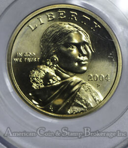 Click now to see the BUY IT NOW Price! $1 ONE DOLLAR 2004 P SAC SACAGAWEA MS69 PCGS TRUE BLAZER PERFECT REGISTRY COIN