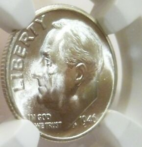 Click now to see the BUY IT NOW Price! 1946 S/S ROOSEVELT DIME  NGC  1/0  VP 005 FB DOUBLING EYE FROSTY LUSTER MS 67 FT