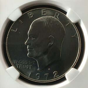 Click now to see the BUY IT NOW Price! 1972 D $1 EISENHOWER DOLLAR NGC MS67       4474313 011C