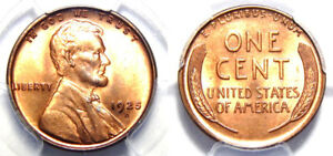 Click now to see the BUY IT NOW Price! 1925 D 1C PCGS MS 65 RD  LINCOLN WHEAT//