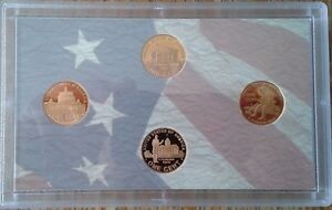 2009 S LINCOLN BICENTENNIAL ONE CENT PROOF FOUR COIN SET US MINT NO BOX