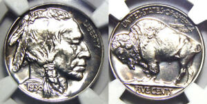 Click now to see the BUY IT NOW Price! 1936 5C NGC PF68  BEST OF THE BEST BUFFALO NICKEL//