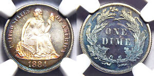 Click now to see the BUY IT NOW Price! 1884 10C NGC PF68 CAMEO   LIBERTY SEATED DIME//
