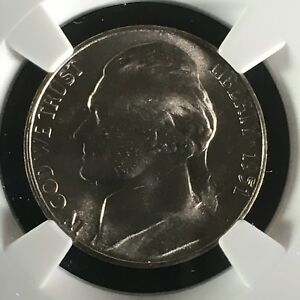 Click now to see the BUY IT NOW Price! 1951 S 5C FS JEFFERSON NICKEL NGC MS67 5FS       4468106 007C
