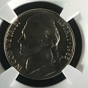 Click now to see the BUY IT NOW Price! 1963 5C FS JEFFERSON NICKEL NGC MS67 5FS       2713669 013C