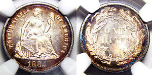 Click now to see the BUY IT NOW Price! 1884 10C NGC PR68 CAMEO   LIBERTY SEATED DIME//
