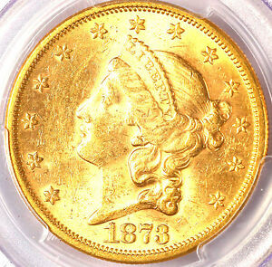 Click now to see the BUY IT NOW Price! 1873 S $20 OPEN 3 MS61 PCGS   ONLY 5 IN HIGHER GRADE  LIBERTY HEAD