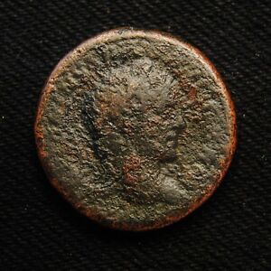 Click now to see the BUY IT NOW Price! AE DUPONDIUS EMPEROR CARACALLA RV AESCULAPIUS 11.39 GRAMS ROME MINT AD 215