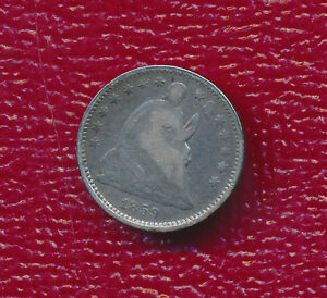 1859 O SEATED LIBERTY SILVER HALF DIME  NICE CIRCULATED HALF DIME