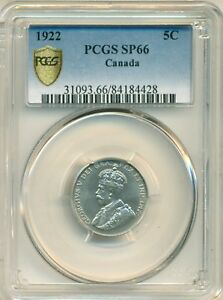 Click now to see the BUY IT NOW Price! 1922 5 CENT PCGS SP66
