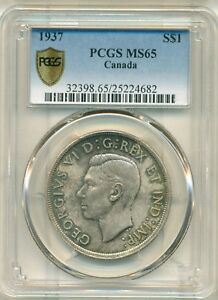 Click now to see the BUY IT NOW Price! 1937 $1 MS65 PCGS