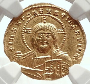 Click now to see the BUY IT NOW Price! CONSTANTINE VII AUTHENTIC ANCIENT BYZANTINE GOLD COIN W JESUS CHRIST NGC I71690