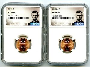 2018 P LINCOLN SHIELD CENT NGC MS 68 RD NGC PRICE GUIDE @ $200 SPOTLESS 1 OF 47