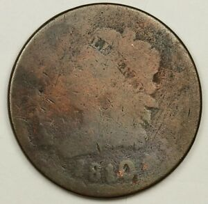 1810/9 LARGE CENT.  FULL DATE.  NICE SURFACES.  130283