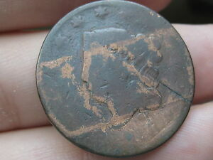 1816 OR 1818 MATRON HEAD LARGE CENT PENNY