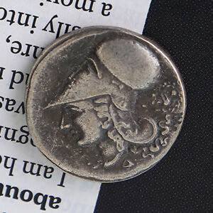415 TETRADRACHM ANTIQUE METAL PLATED ANCIENT GREEK COLLECTIBLE COINS
