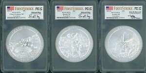 Click now to see the BUY IT NOW Price! 2012 P 2013 2014 2015 2016 & 2017 P 30 COIN SET ATB NP 5 OZ SILVER PCGS SP70 FS