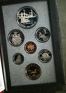 1991 CANADA DOUBLE $$ FRONTENAC PROOF SET  SILVER  ORIGINAL PACKAGE COA   SEALED